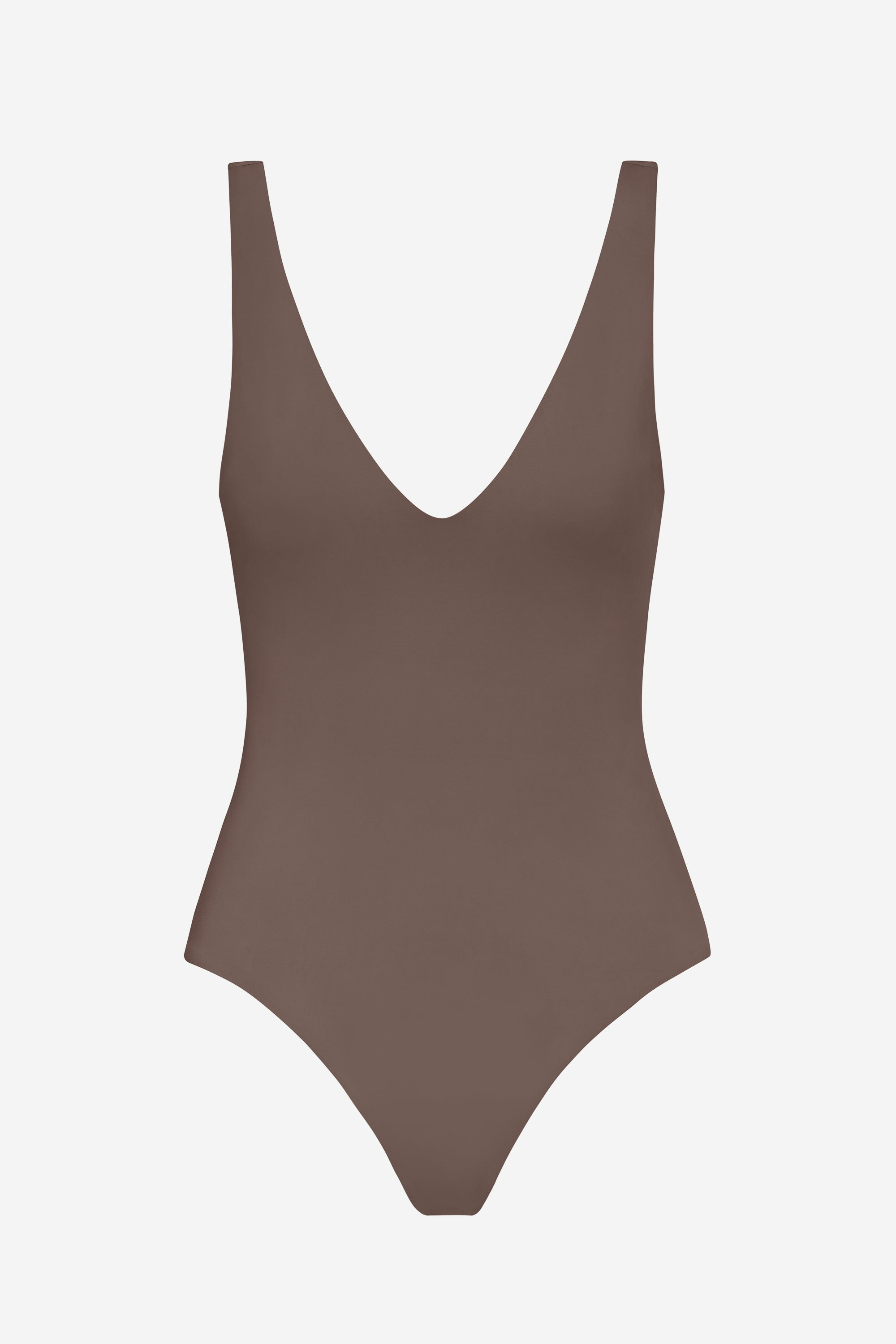 Ester one-piece - Terra brown - Swim one piece - Her Line