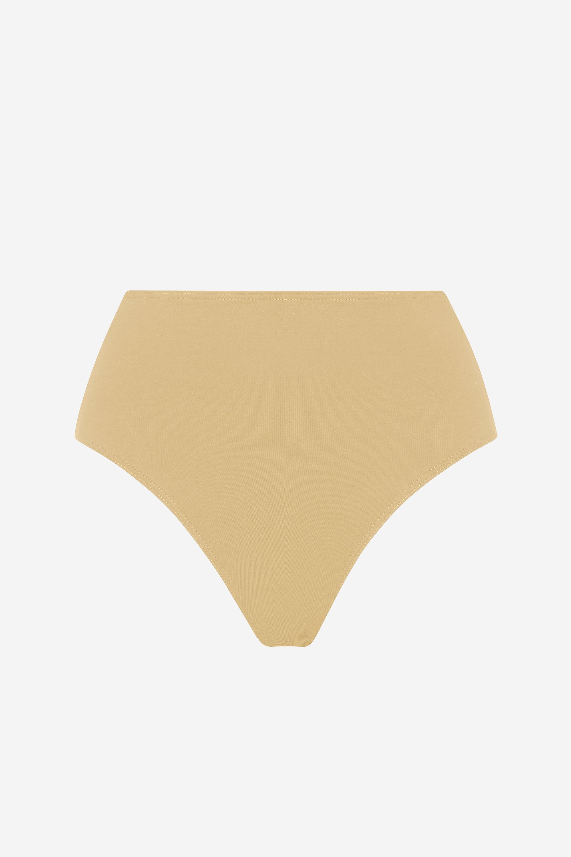 Classic high brief - Light straw - Swim brief - Her Line