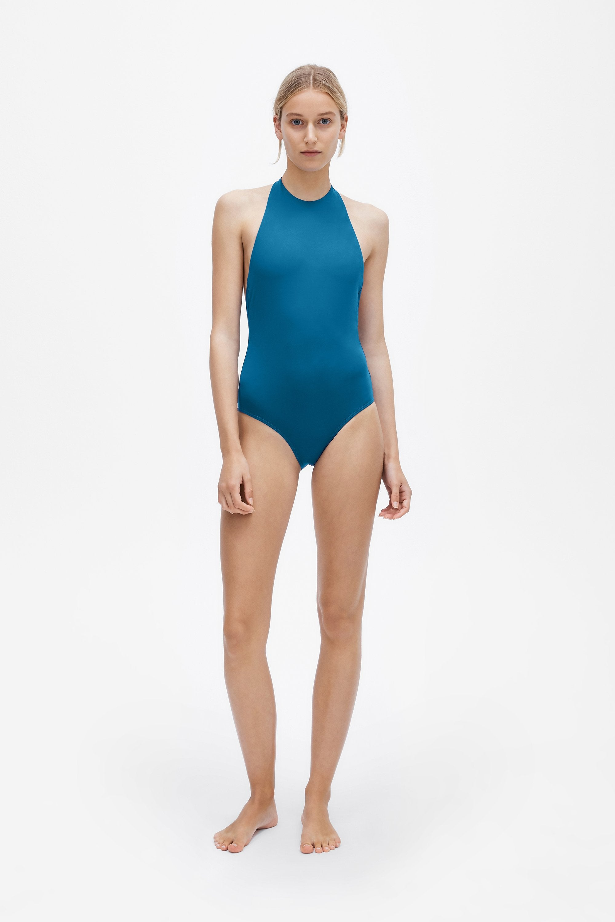 Jean one-piece - True blue - Swim one piece - Her Line