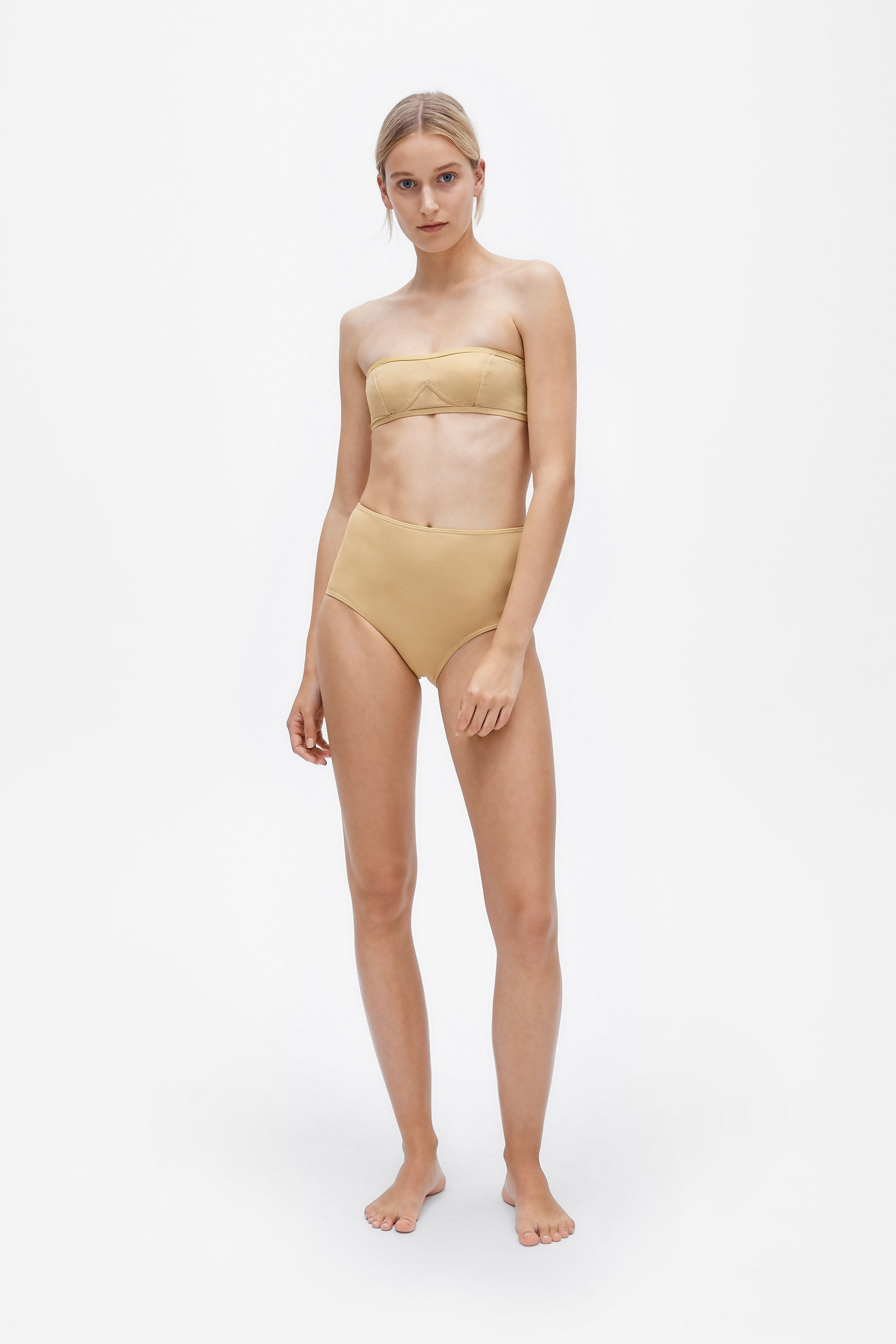 Lily two-piece set - Light straw - Swim two piece - Her Line