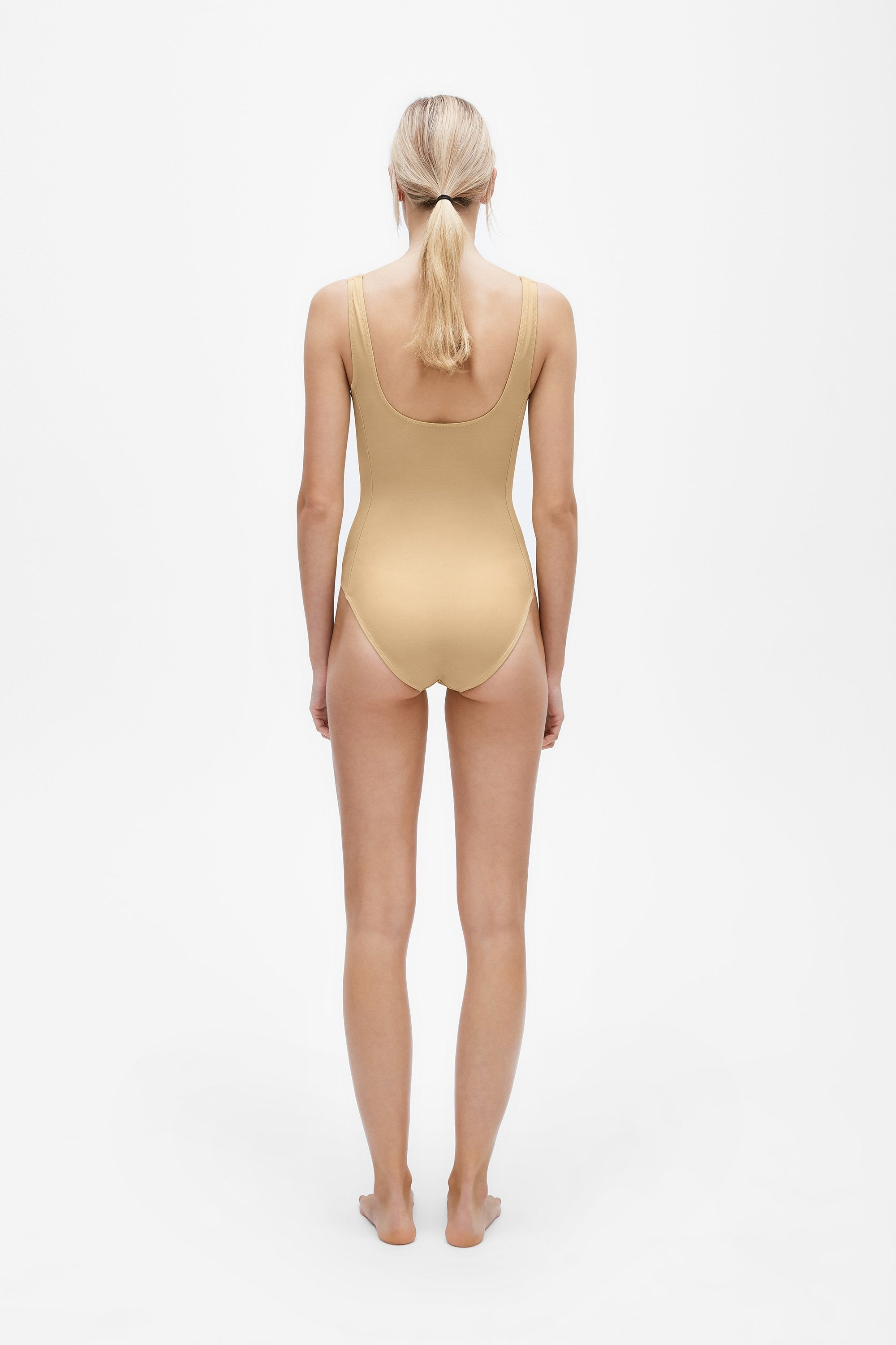 Marni one-piece - Light straw - Swim one piece - Her Line