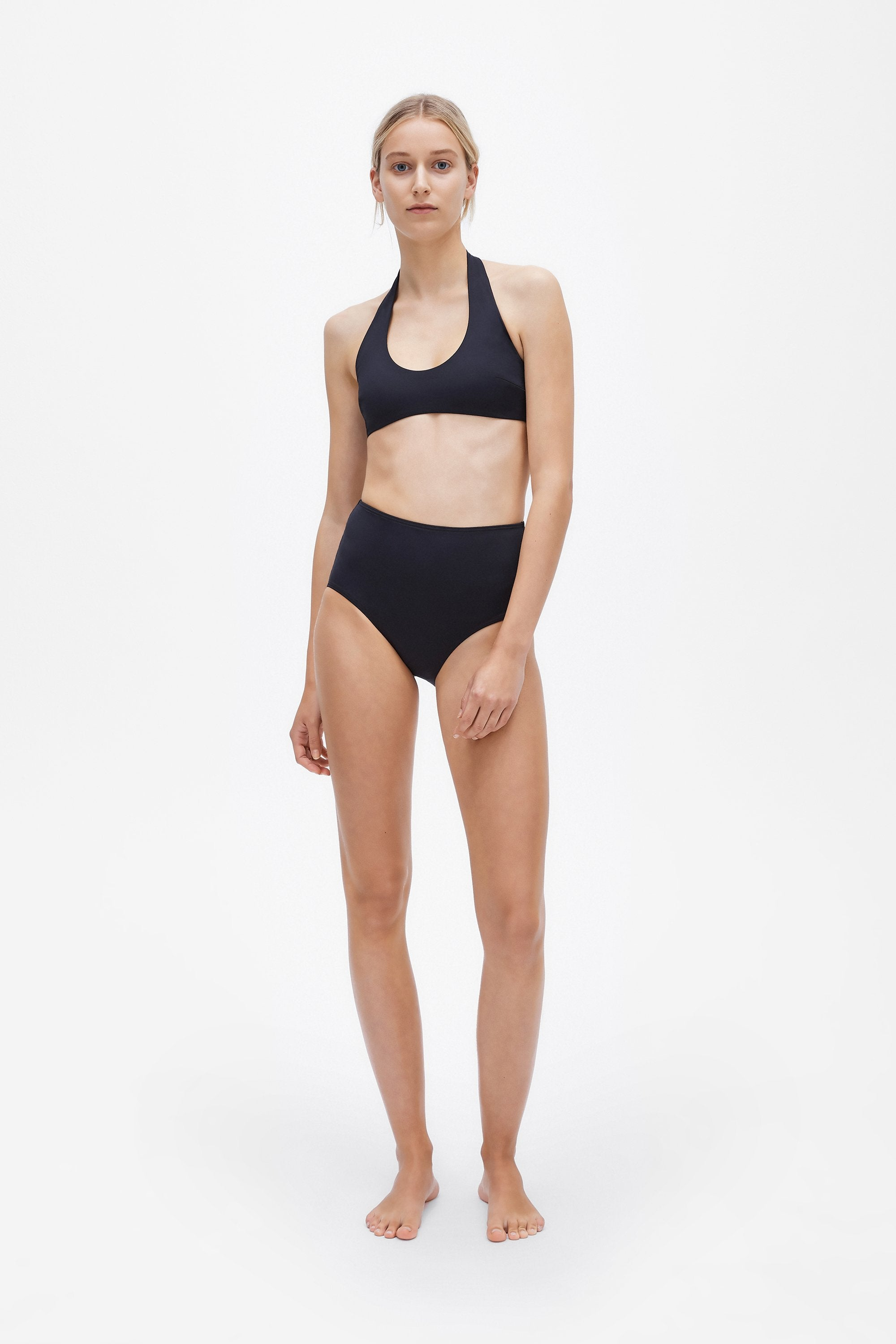 Ren two-piece set - Coal black - Swim two piece - Her Line