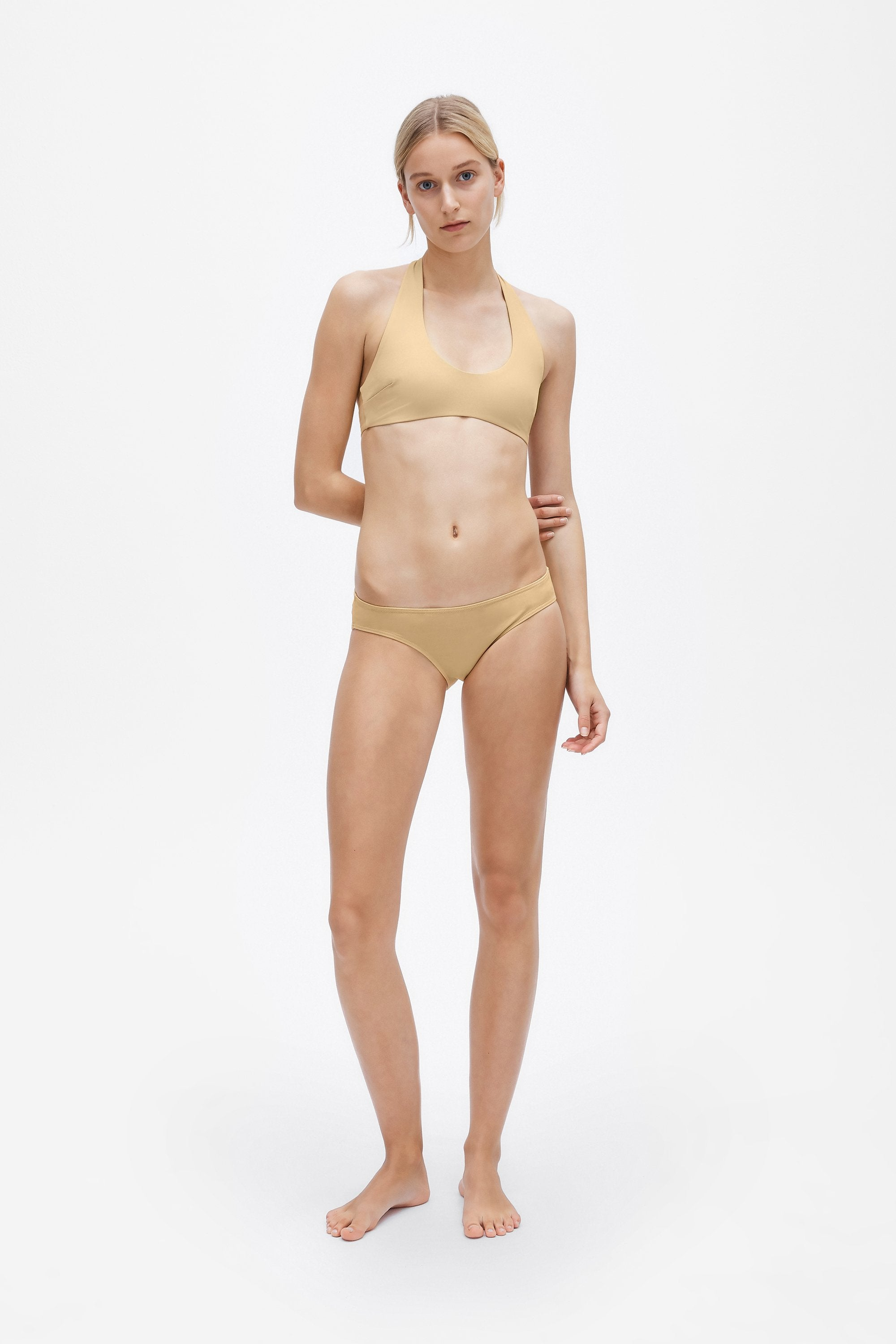 Ren two-piece set - Light straw - Swim two piece - Her Line