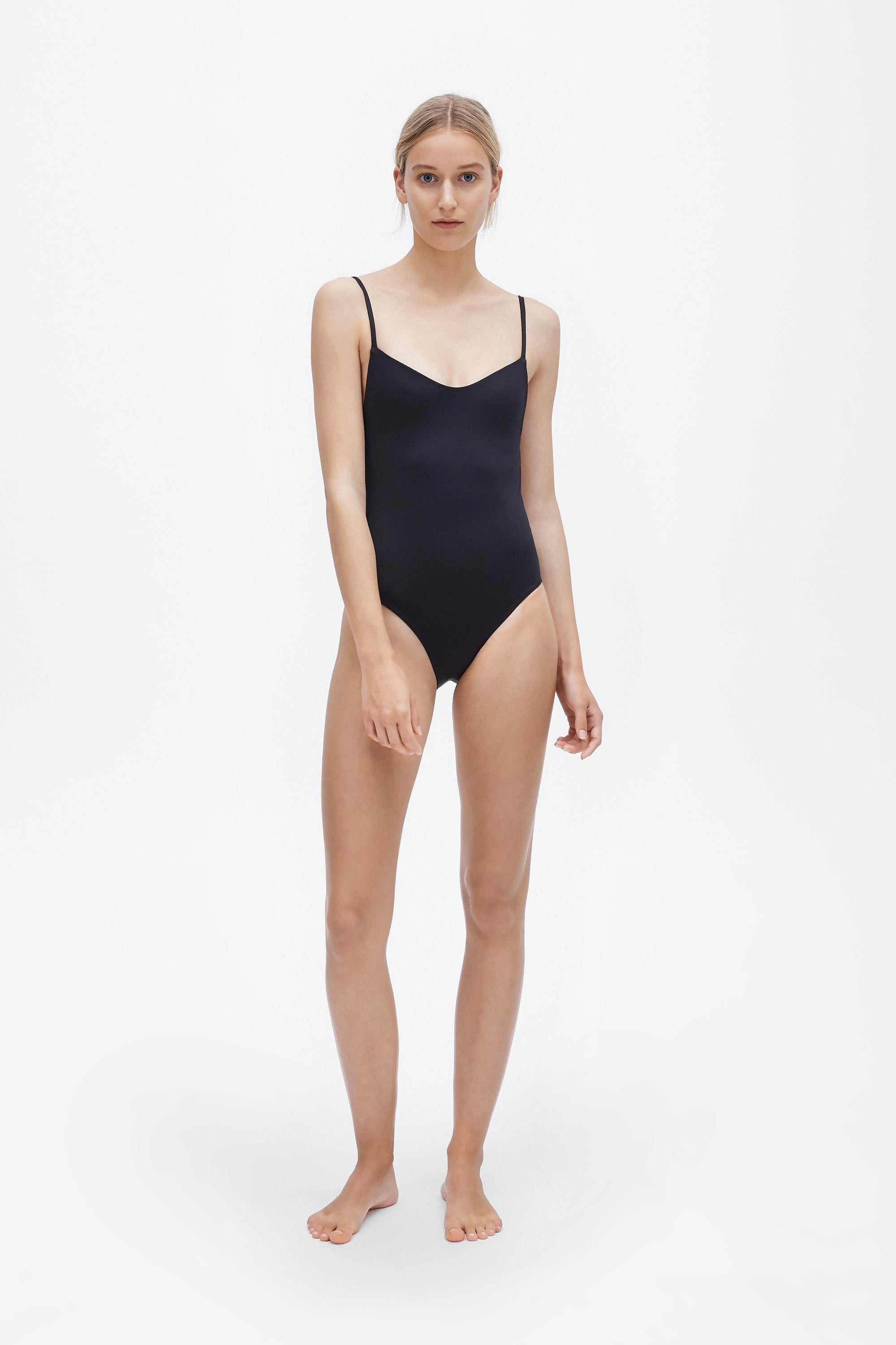 Romy one-piece - Coal black - Swim one piece - Her Line