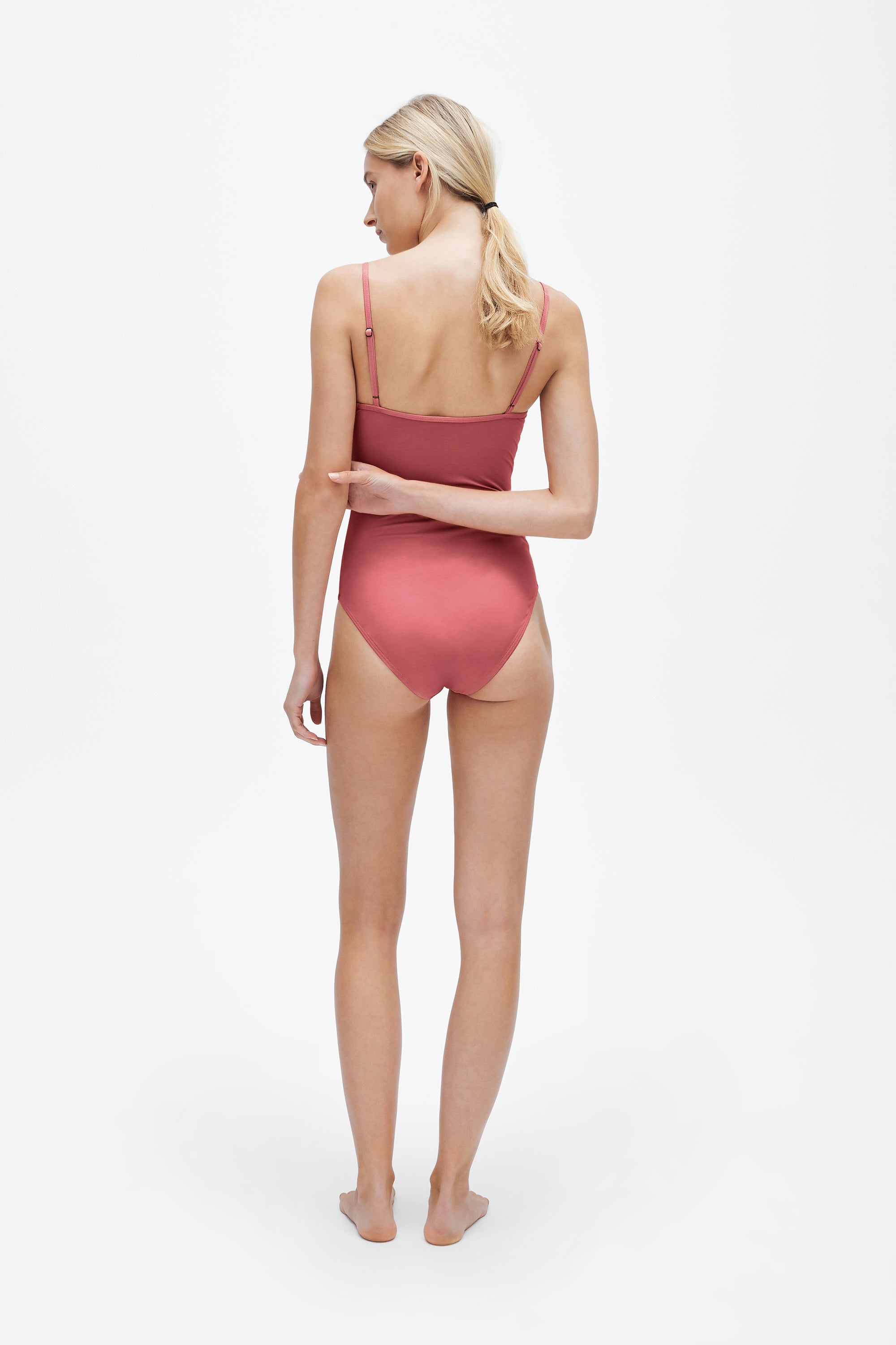 Sabine one-piece - Dusted pink - Swim one piece - Her Line