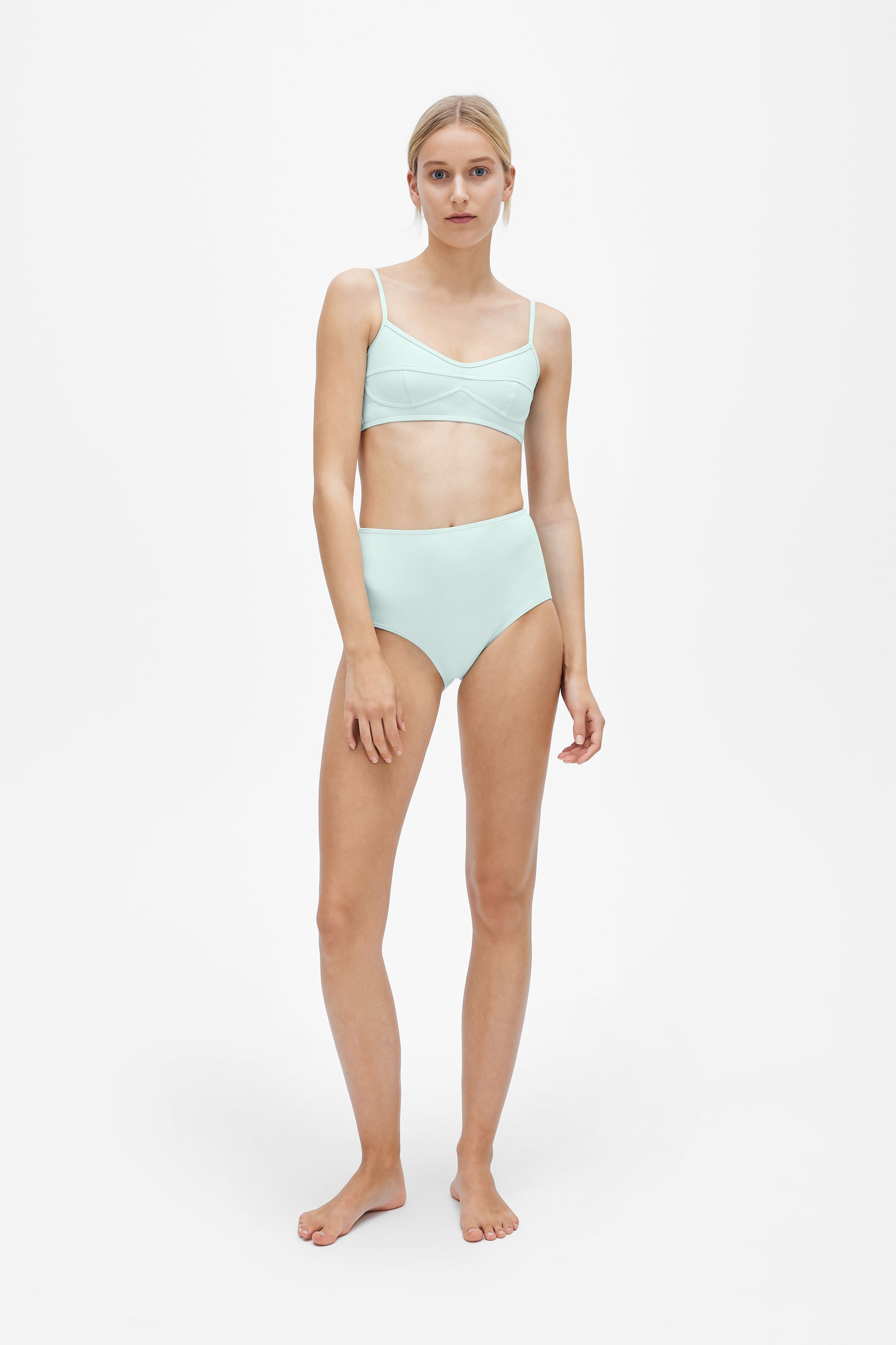 Suzi two-piece set - Cool mint - Swim two piece - Her Line