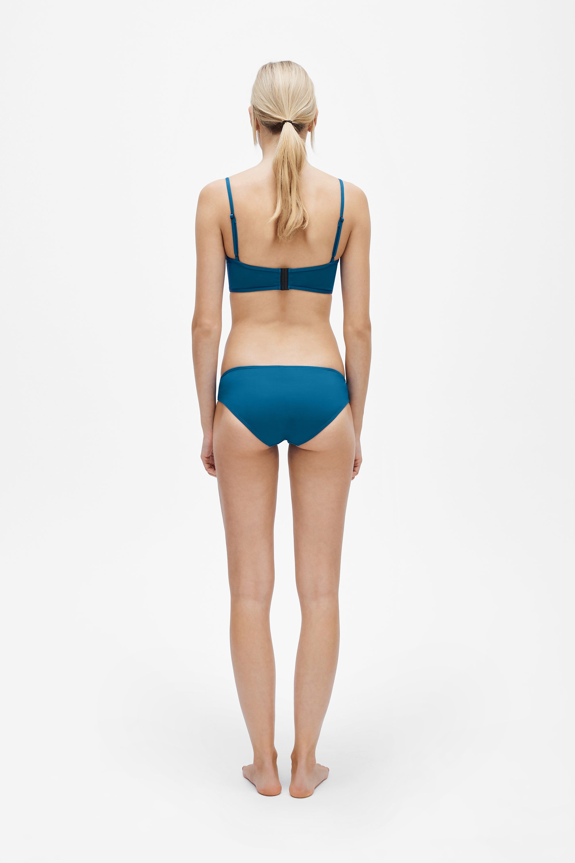Suzi top - True blue - Swim top - Her Line