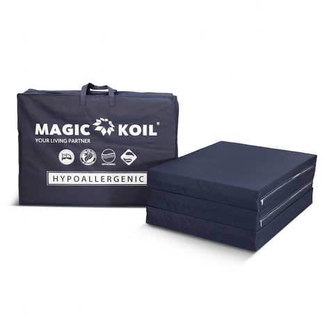 Magic Koil High Density Resilient Foldable Latex Foam Mattress