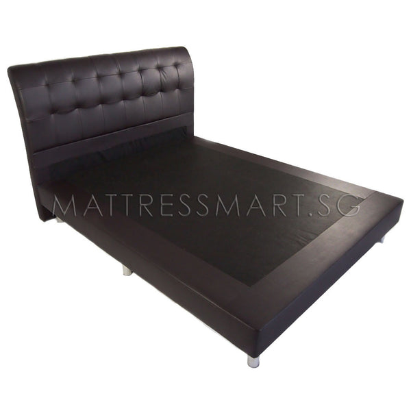 Magic Koil Royal Luxury Mattress (LB) with Juliet Bed Frame (MK100) Package