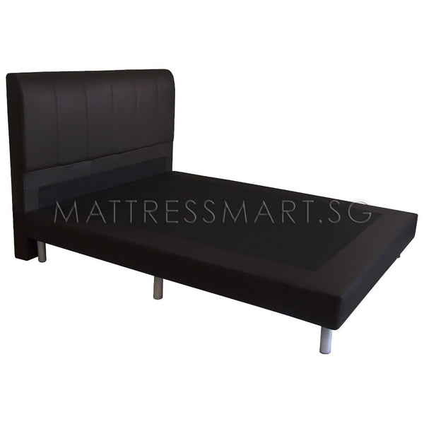 Magic Koil Posture Perfect Mattress (LB) with Romeo Flat Back Bed Frame (MK12) Package
