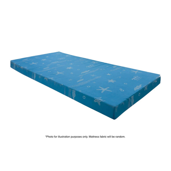 Eclipse Foam Mattress with Joey Metal Bed Frame (#FBCD-3) Package, Single