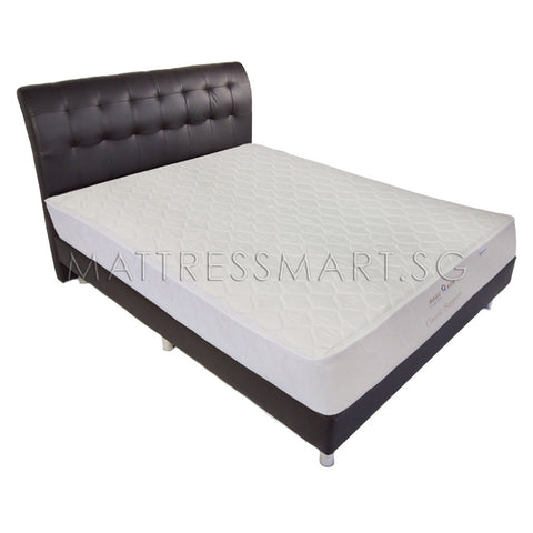Magic Koil Classic Support Mattress with Juliet Bed Frame (MK100) Package