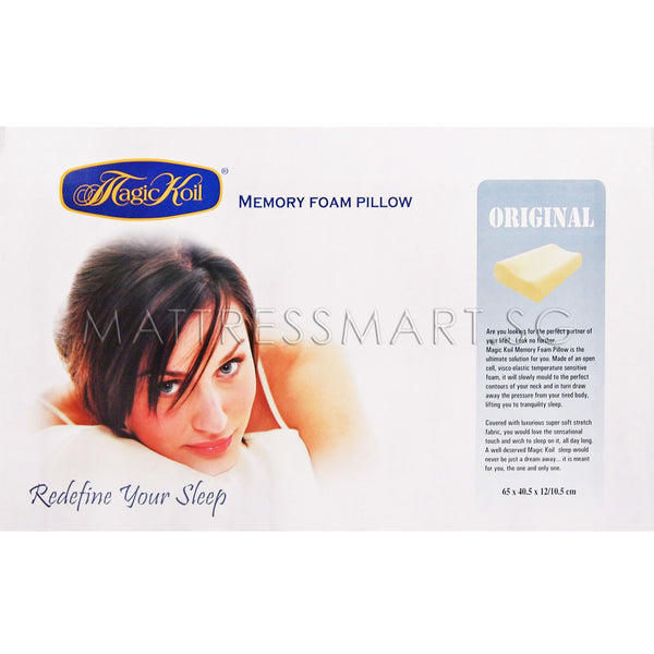Magic Koil Memory Foam Pillow (Contour)