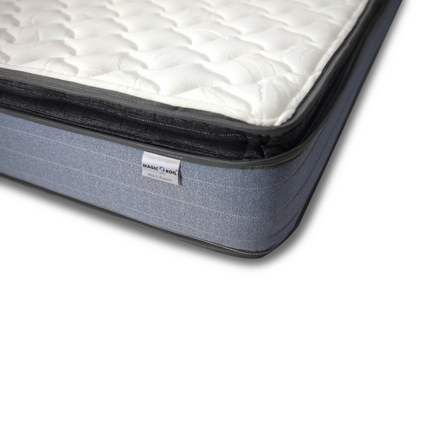 Magic Koil Royal Luxury Individual Pocket Spring Pillow Top Mattress (LB)