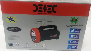 10 WATT HAND HELD SEARCH LIGHT (LED) - RECHARGEABLE EMERGENCY TORCH - Hire-it Technologies