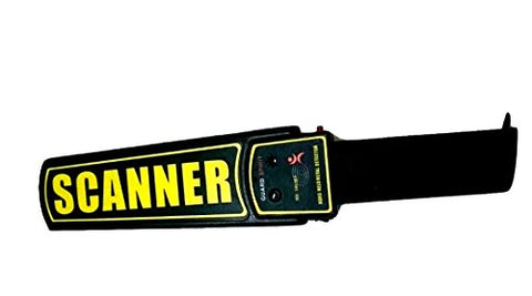 Superscanna - Hand Held Metal Detector - HHMD - Dry Cell