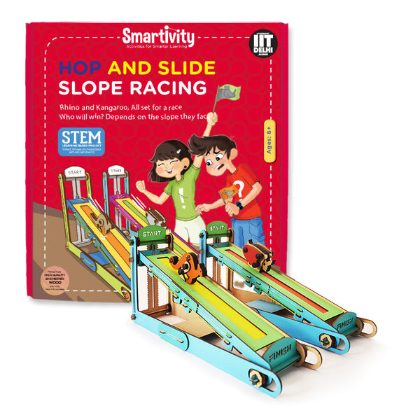 Smartivity Hop and slide slope racing - Hire-it Technologies