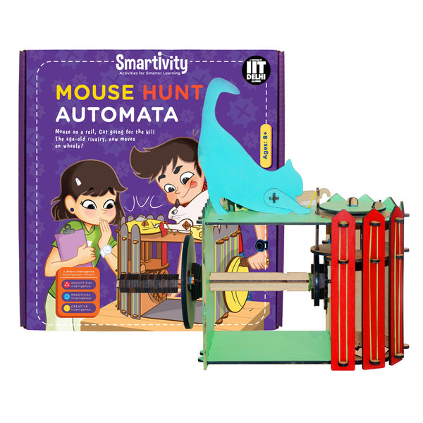 Smartivity Mouse Hunt Automata S.T.E.M. Educational D.I.Y. Toy - Hire-it Technologies