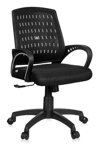 Ergonomic Executive Boss Revolving Chair Black High Spine Back Support (RC-103)