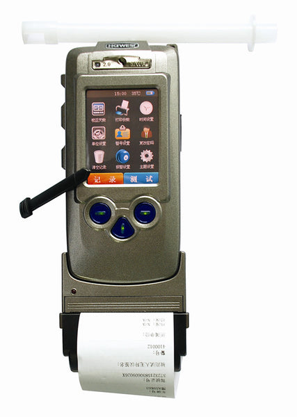 Portable Breathe Alcohol Tester - With Printer - Police Use - Model AT8900 - Hire-it Technologies