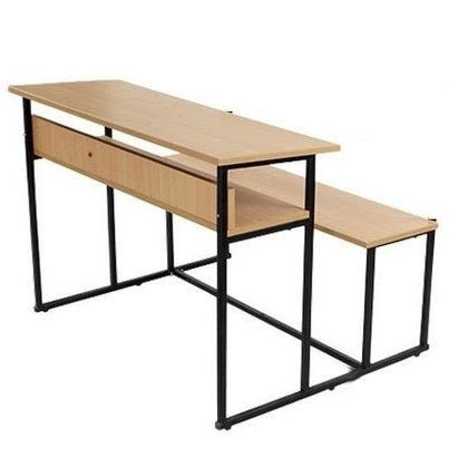 CLASSROOM DESKING/SEATING /THREE SEATER/INTERGRATES DESK CUM SEATINGT WITH SHELF/STORAGE UNDER DESK