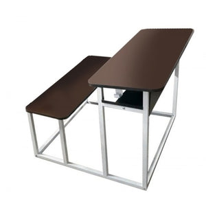 Classroom Desking & Seating - Two Seater - Without Backrest