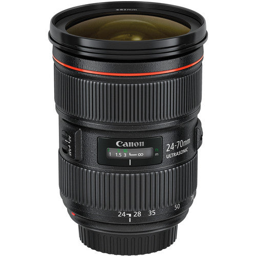 EF24-70MM F/2.8L II USM CANON LENS - Hire-it Technologies