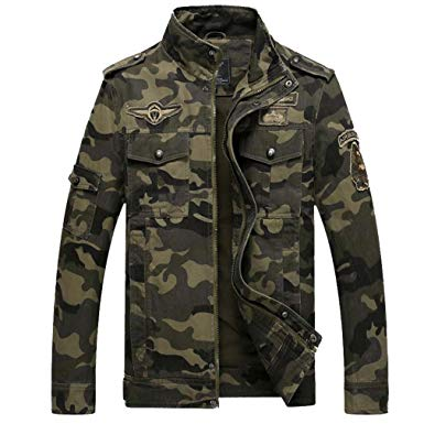 Coat Combat Disruptive Detachable Lining