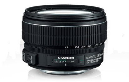 EF-S 15-85 MM 3.5-5.6 IS USM CANON LENS - Hire-it Technologies