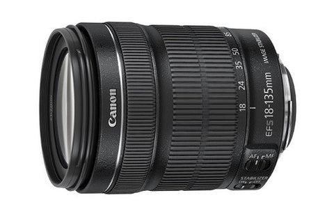 EF-S 18-135 MM 3.5-5.6 IS STM CANON LENS - Hire-it Technologies