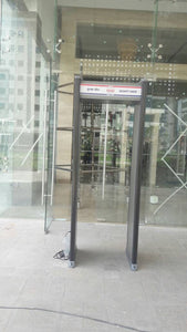 DOOR FRAME METAL DETECTORS (DFMD) - 6 ZONE MULTI-ZONE - ABS PLASTIC BODY - Hire-it Technologies