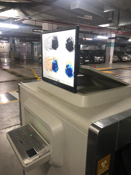 X-RAY BAGGAGE SCANNER - Hire-it Technologies