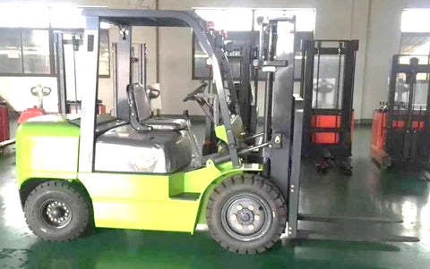 4 WHEEL ELECTRIC FORKLIFTS - Hire-it Technologies