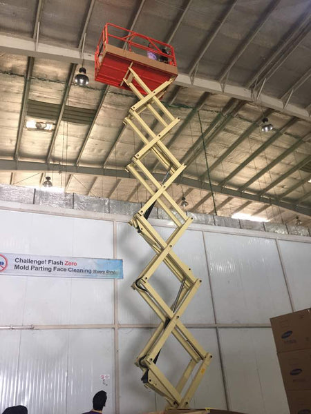 SCISSOR LIFT / SKY LIFT - Hire-it Technologies