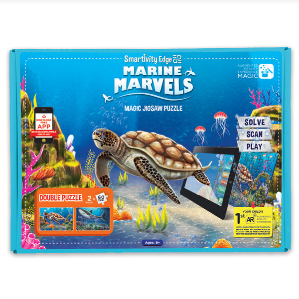Smartivity EDGE Marine Marvels Puzzle - Hire-it Technologies