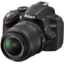 NIKON 3200 DSLR CAMERA WITH 18-55MM LENS - Hire-it Technologies