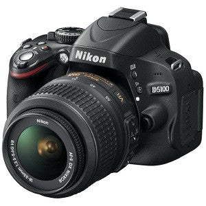 NIKON 5100 DSLR CAMERA WITH 18-55MM LENS - Hire-it Technologies