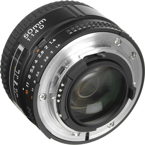 NIKON - 50 MM F/1.4 D AF FX 1:1.4D LENS - Hire-it Technologies