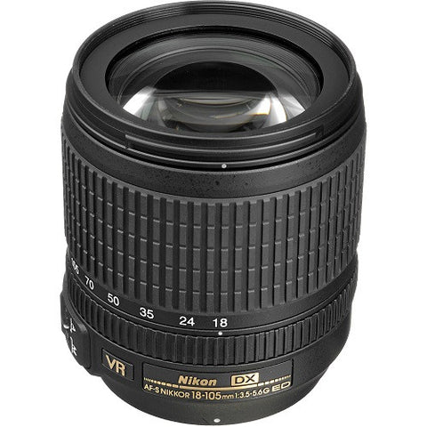 NIKON 18-105MM VR LENS - Hire-it Technologies