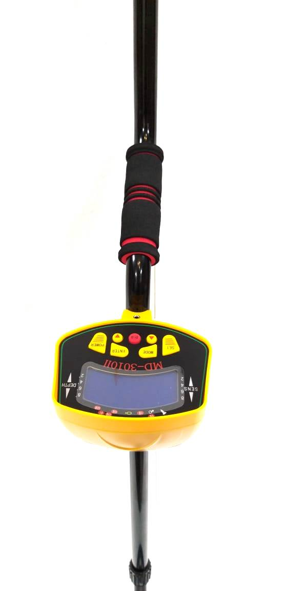 Sapper 4E - Underground Deep Search Metal Detector - Range 4-5 Meter- Detects Gold, Silver (Ferrous/Non- Ferrous) Separately (Model: 412) - Hire-it Technologies