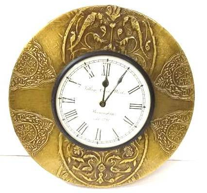 Ethnic Round Wall Clock ( Model : 221 ) - Hire-it Technologies