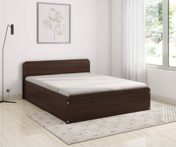 Double Bed (Wooden) With Box