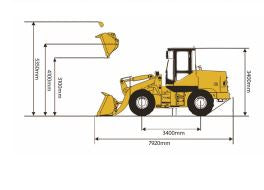 DETEC BACKHOE LOADER