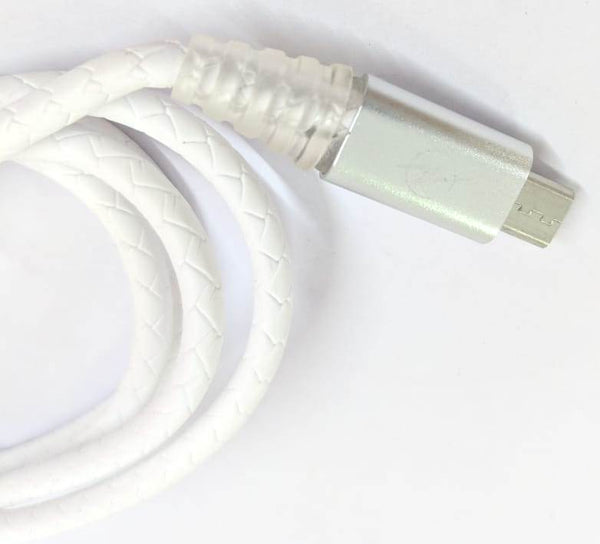 Micro USB Port - Data Charging Cable With LED - 1 Meter - 480 Mbps Transfer Speed - Hire-it Technologies
