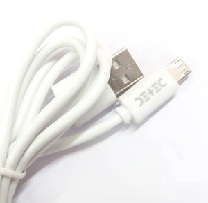 White USB Type - Micro USB Port - Data Charging Cable - CS118_Micro_White - 1 Meter - 2Amp - 480 Mbps Transfer Speed