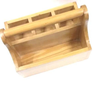 Wooden Multi - Purpose Cutlery Stand / Holder For Kitchen & Dinning Area (Model: 138)