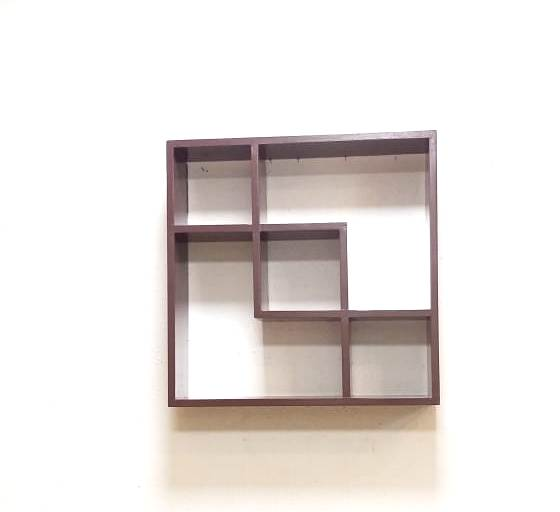 Pine Wood Wall Bracket - Tanned Brown Color (Model: 134) - Hire-it Technologies