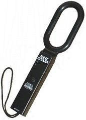 Hand Held Metal Detector - Alpha Rechargeable  - HHMD for Security Frisking - Hire-it Technologies