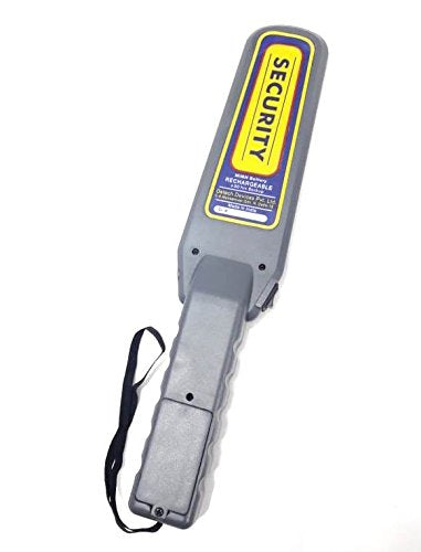 Hand Held Metal Detector - Metalert Rechargeable - HHMD for Security Frisking - Hire-it Technologies