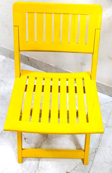 Wooden Portable Folding Chair - Set of 2 (Model: 148)